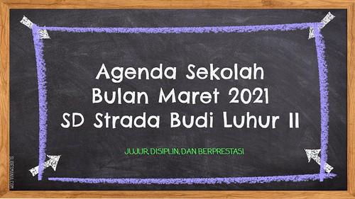 Agenda Bulan Maret 2021
