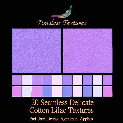 TT 20 Seamless Delicate Cotton Lilac Timeless Textures