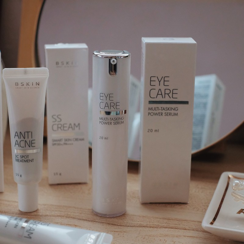 BSkin Eye Care Multi-Tasking Power Serum Now in Philippines