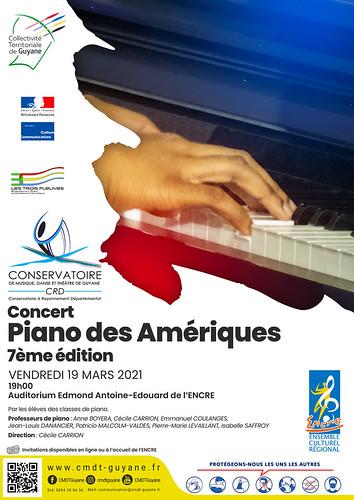 Concert piano des Amériques 7ème edition