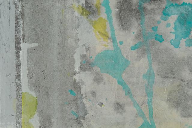 Mikokoro (Hitori no Heya) (detail) (2020) oil on wood panel, mimitsu washi, usumino washi, ink, acrylic, aluminum leaf, silver leaf, tamamushi leaf, charcoal, pastel, colored pencil 297x210x20mm