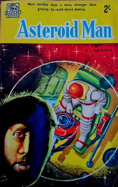Asteroid Man - Badger Book # SF 35 - R.L. Fanthorpe - 1960