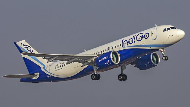 Indigo Airbus A320NEO VT-IVF Bangalore (BLR/VOBL)
