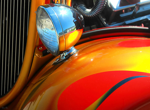 hues and horsepower...