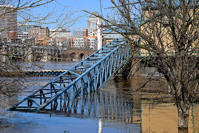 Flood Stage on the Ohio River