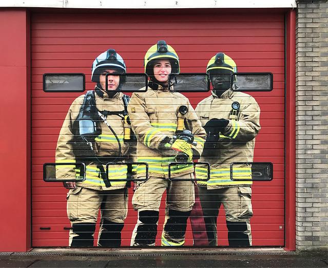 Fire Station, Witney - 25 Mar 2021