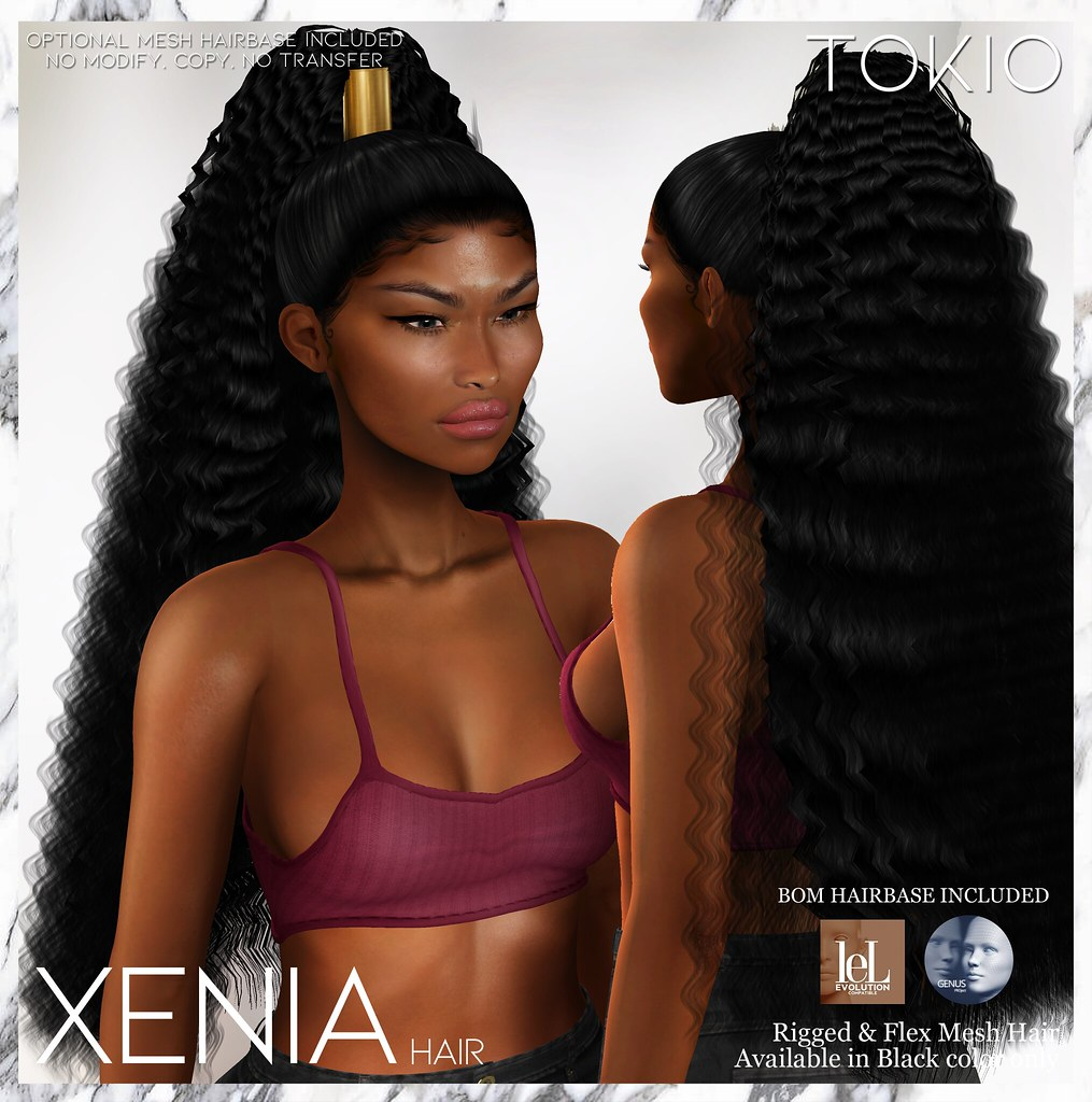 TOKIO Hair – XENIA – ENERGY Event L$50 @Mainstore!!