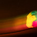 Marc703S posted a photo:Model of human brain rotated in front of an open shutter