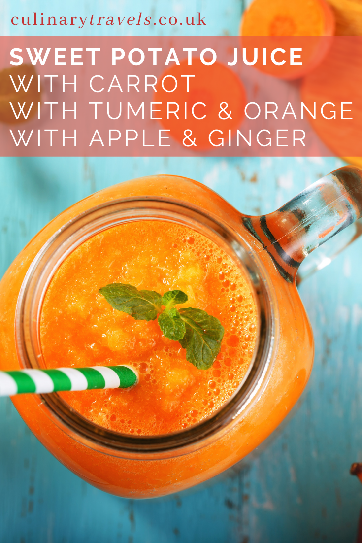 How to make Sweet Potato Juice, plus 3 deliciously tempting, incredibly healthy recipes to try.