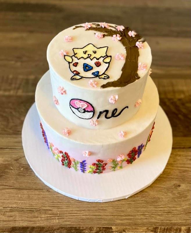 Cake by Buttercream Bakery