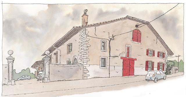 France, Haute-Savoie, Domaine de Marsaz