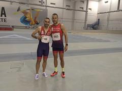Francisco Manuel Peláez y Juan Carlos MOntoro Campeonato Andalucía Absoluto de Heptahlon