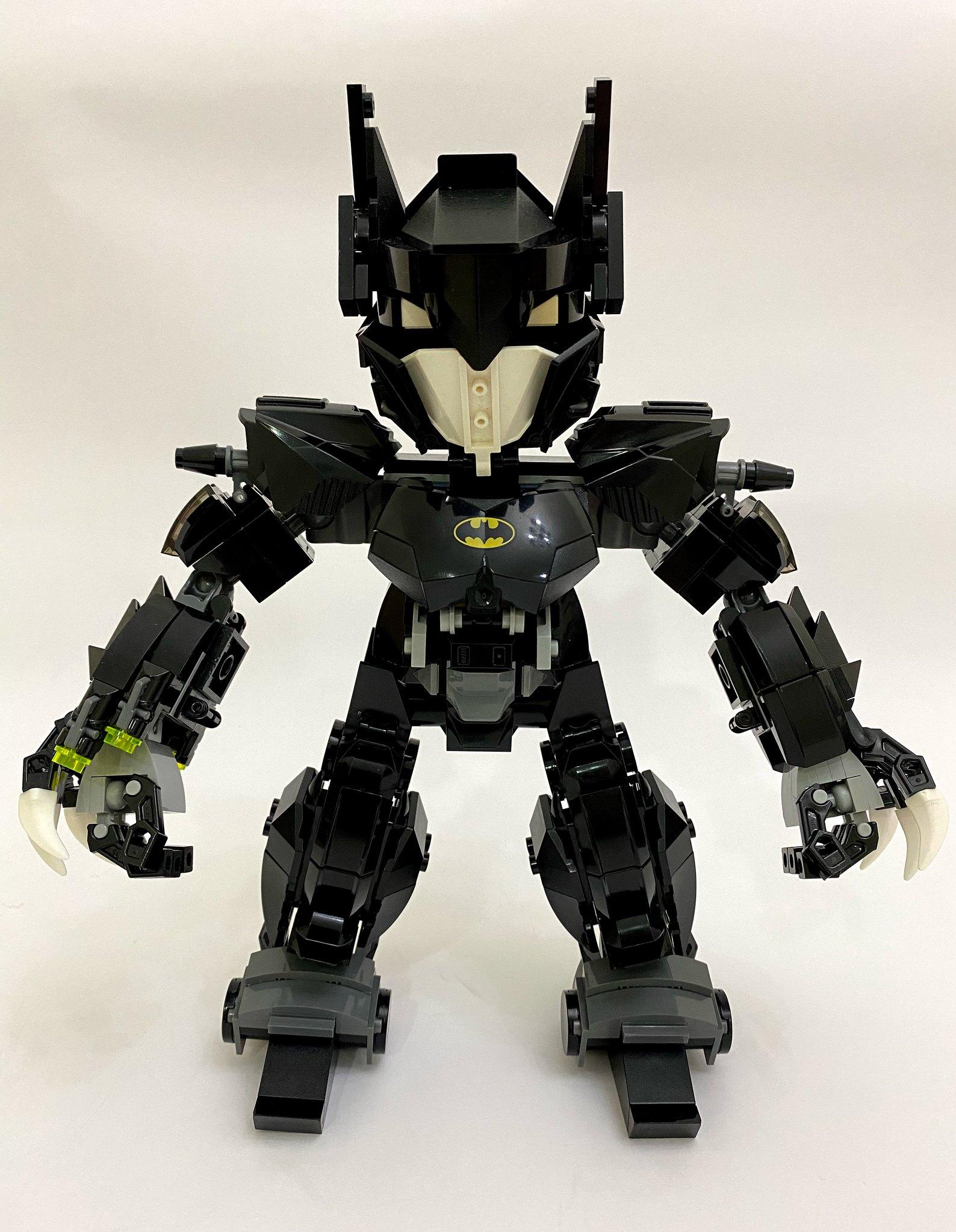 [Alan MOC] 蝙蝠俠機器人 v2