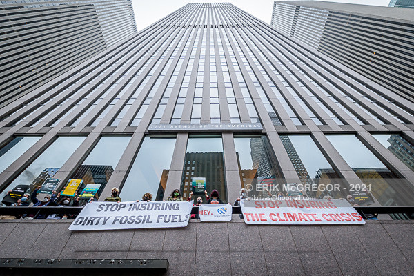 NYC Activists Demand Tokio Marine To Stop Insuring Fossil Fuels