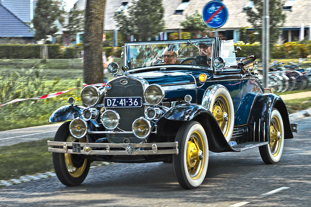 Ford Model A Convertible Cabriolet 1931 (8784)