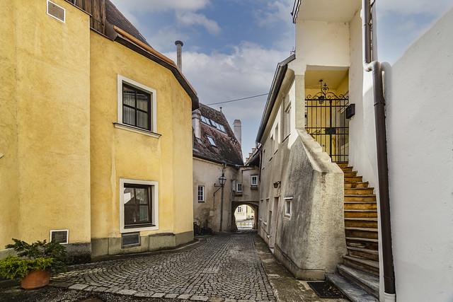 Historic city center in Krems
