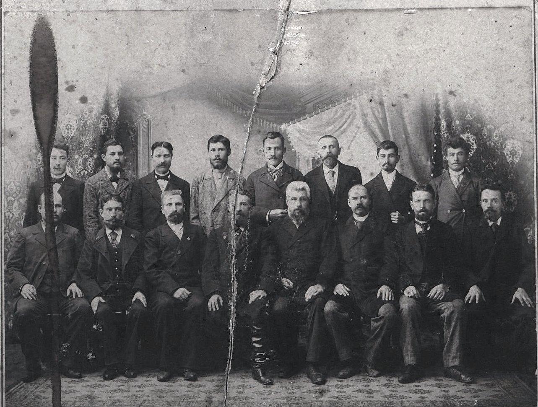 15. Команда парохода русского торгового флота «Хабаровск». 1890