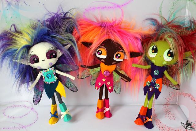 Elvina, Tippi & Fay