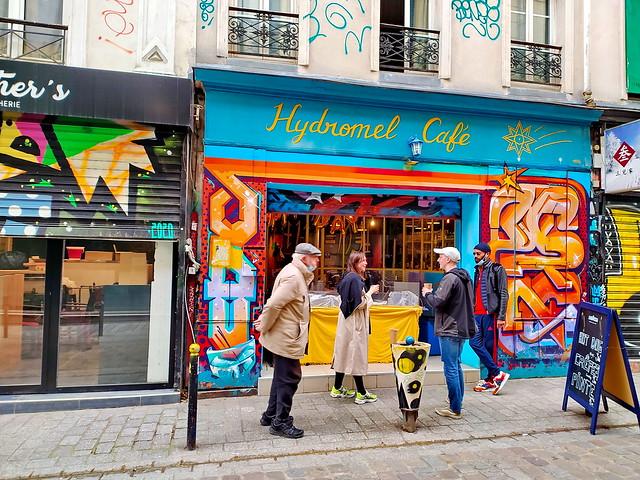 201 - Paris en Février 2021 -  Streetart rue Denoyez