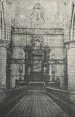 Cuenca. Altar Mayor de la Catedral
