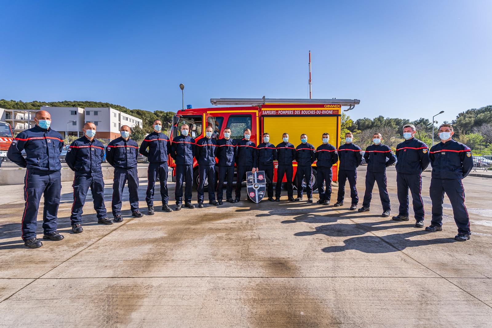 Mission formation pour les Pompiers13 de la FI 45