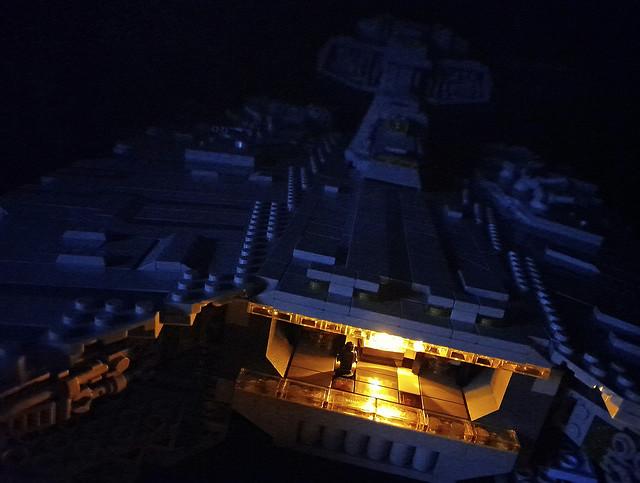 Gladiator Star Destroyer - mood lighting
