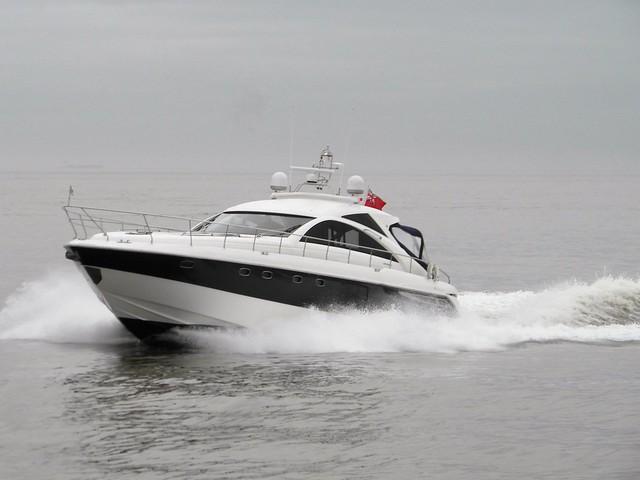 Sports yacht Diva of Guernsey