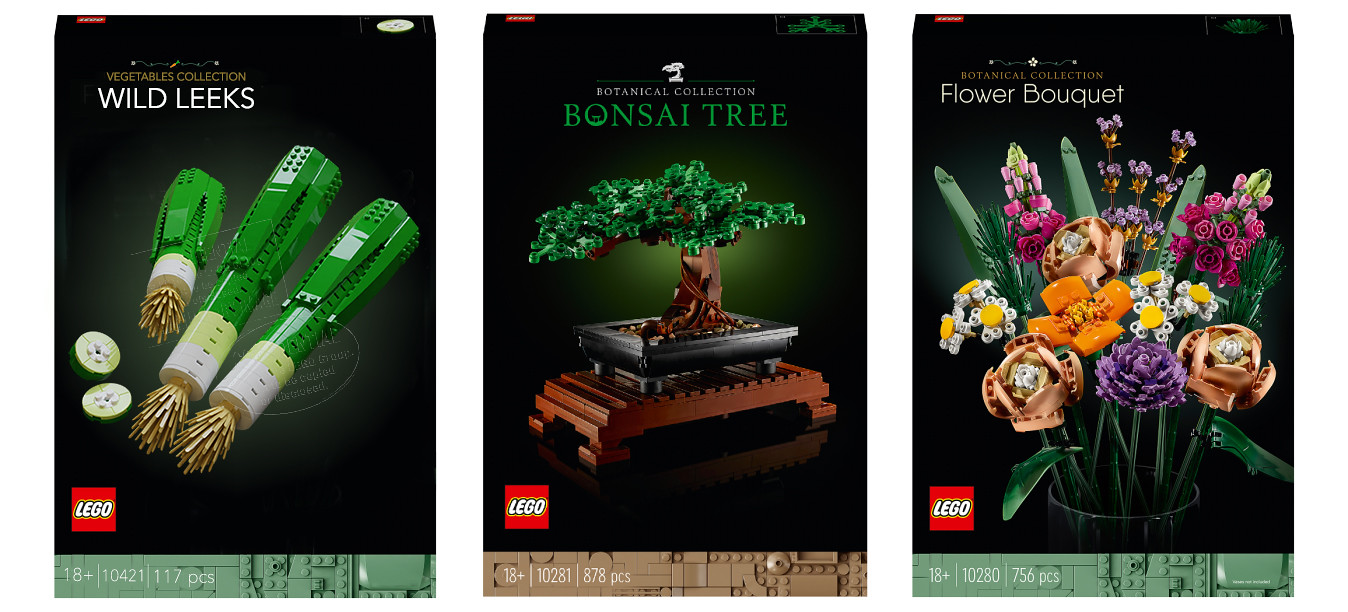 LEGO Botanical Collection All