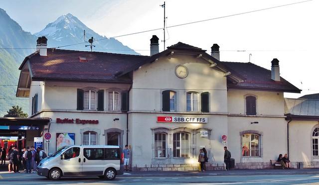 Train Station, Martigny, Switzerland