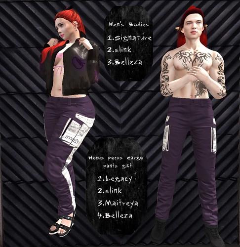 Hocus Pocus Cargo pants gift - ad