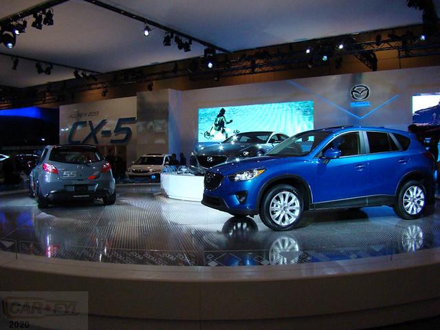 2012 Canadian International Auto Show Mazda Show Space