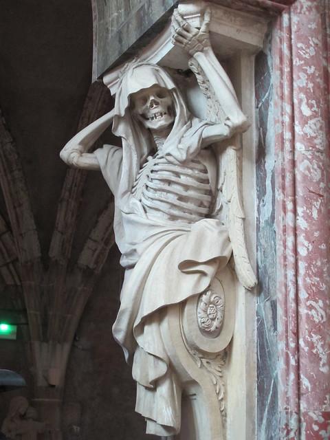 Elle nous attend tous et avec le sourire! Mais où est-elle??? Tombeau de Louis Phélypeaux (1598-1681) - Eglise de Châteauneuf-sur-Loire (45) [Explore du 5 mars 2021]