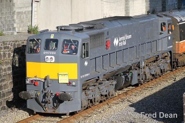 Irish Rail 084 at Ferrybank.