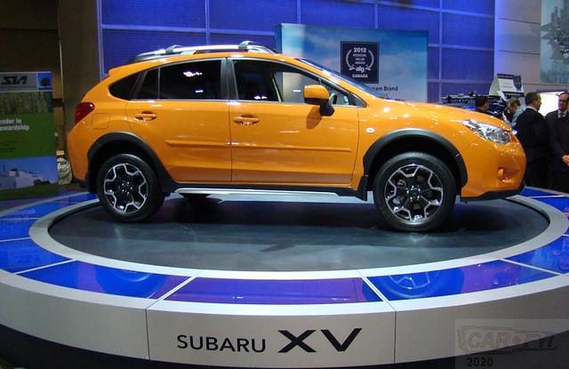 Subaru XV Crosstrek at 2012 Canadian International AutoShow
