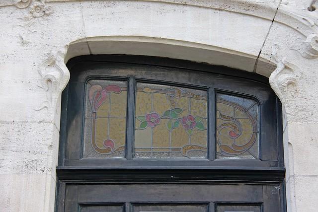 BRUXELLES . Art nouveau / Arch. A. Toisoul