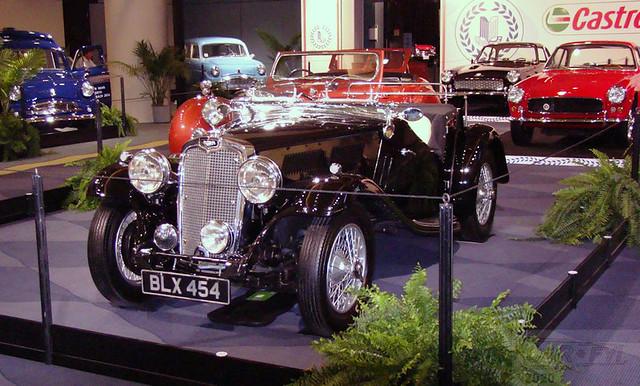 1935 Triumph Gloria Black at 2012 CIAS