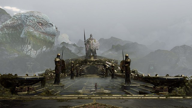 God of War (PS5) - Environments