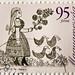 great stamp Hungary 95ft (the duck keeper / duck guardian, Die Entenhüterin, gardien de canard, опекун уток, guardián del pato) frimærker Ungarn Briefmarken postimerkkejä Unkari طوابع ختم هنغاريا postes timbres Hongrie postzegels Hongarije แสตมป์ ฮังการี