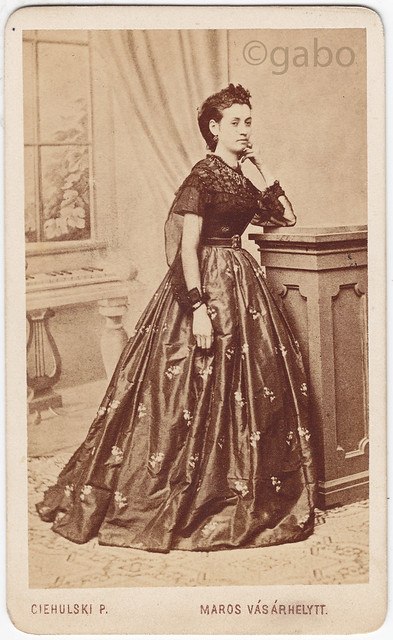 photographer:  Ciehulski P. - Marosvásárhely - 1860s