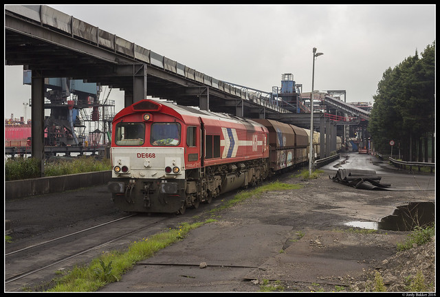 Rhein Cargo DE668, Amsterdam
