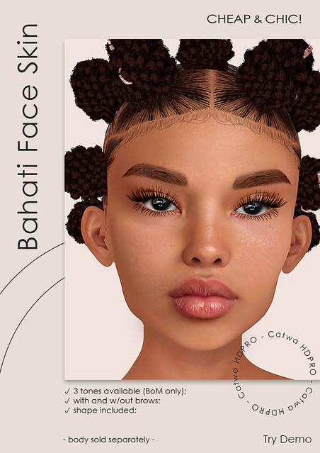 Bahati face skin [Catwa HDPRO]