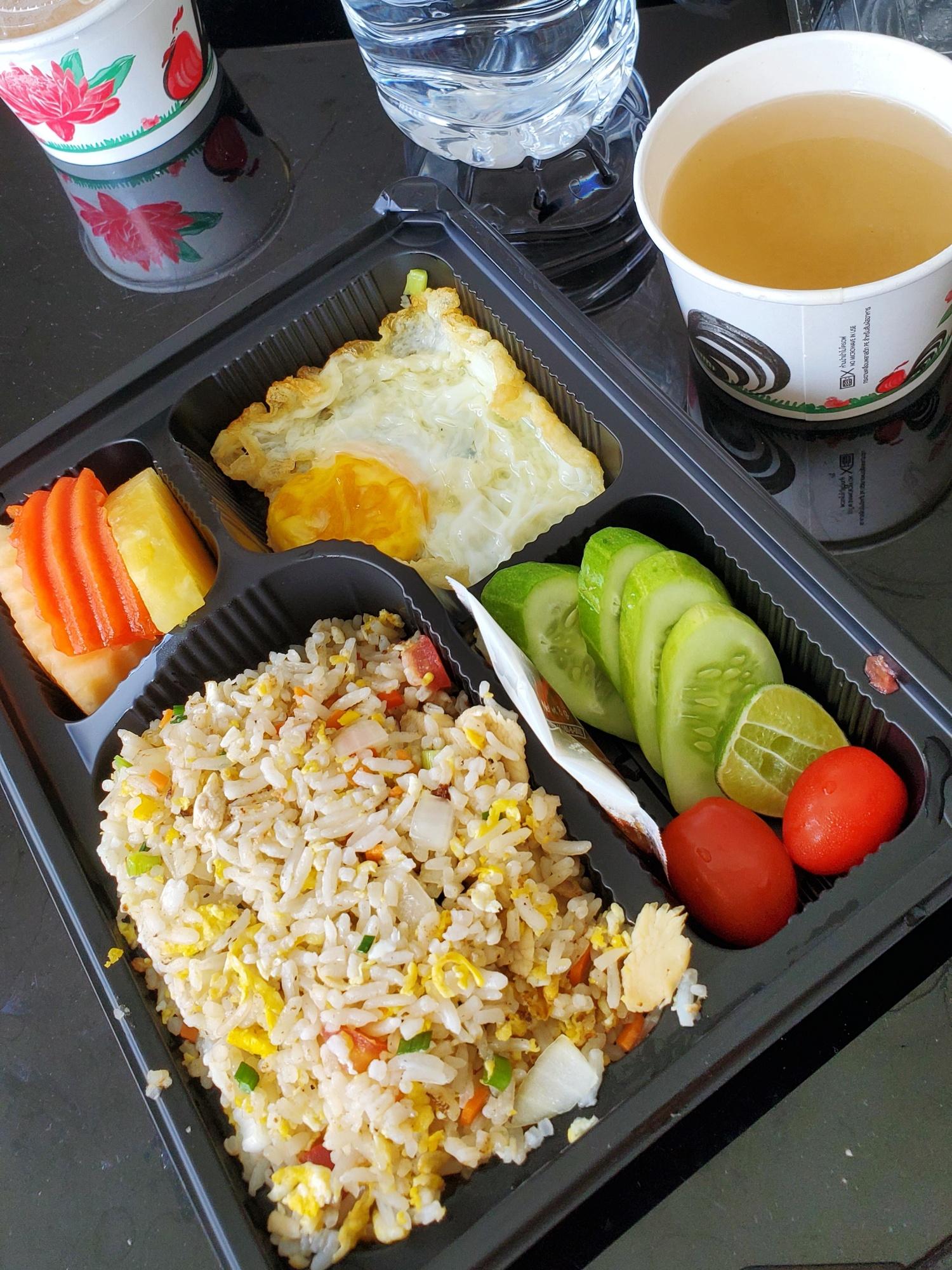 Thailand Quarantine Breakfast