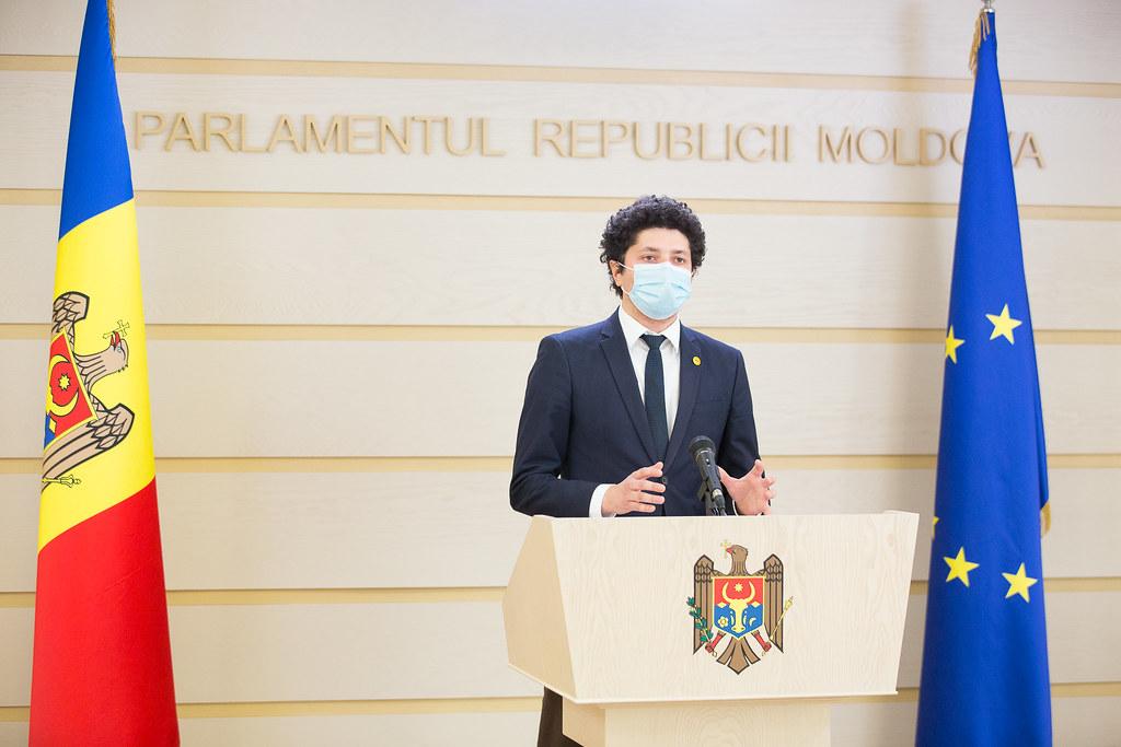 04.03.2021 Briefing de presă al deputatului Fracțiunii PAS BLocul ACUM, Radu Marian