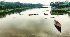 Beautiful river nature in bangladesh