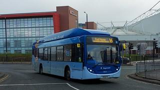 Stagecoach in Sunderland 2821/YR14 CFX
