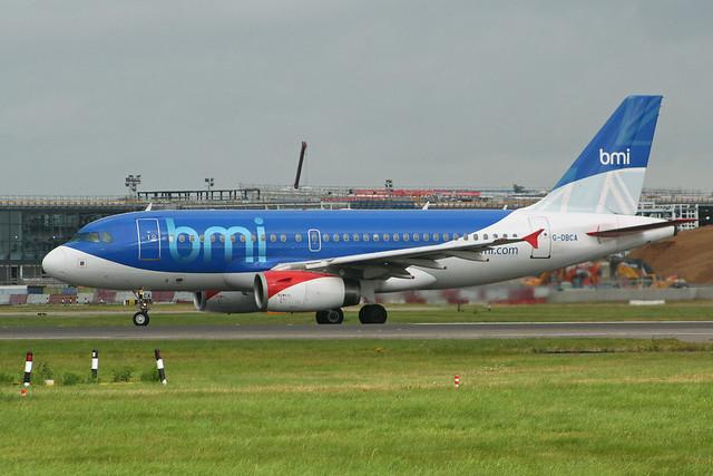 Airbus A319-132 'G-DBCA' bmi British Midland International