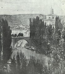 Cuenca. Ermita de San Antón y puente sobre el río Júcar