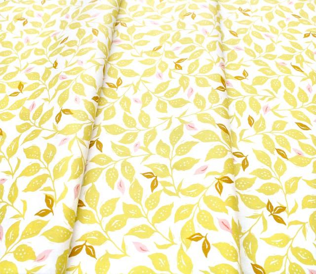 Art Gallery Fabrics Velvet Woodcut Sunrise