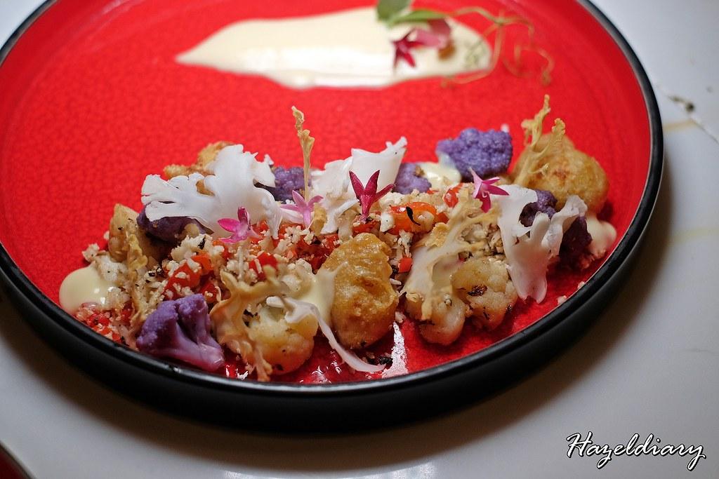 Moonbow Restaurant-Cauliflower Bloom
