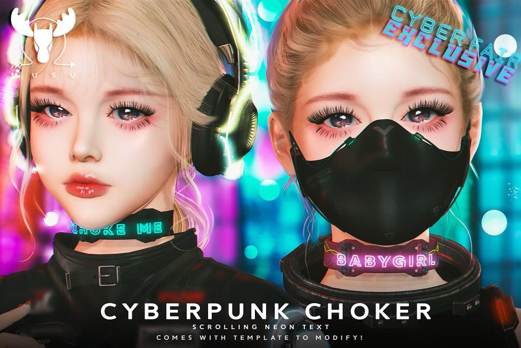 -MUSU- Cyberfair Choker